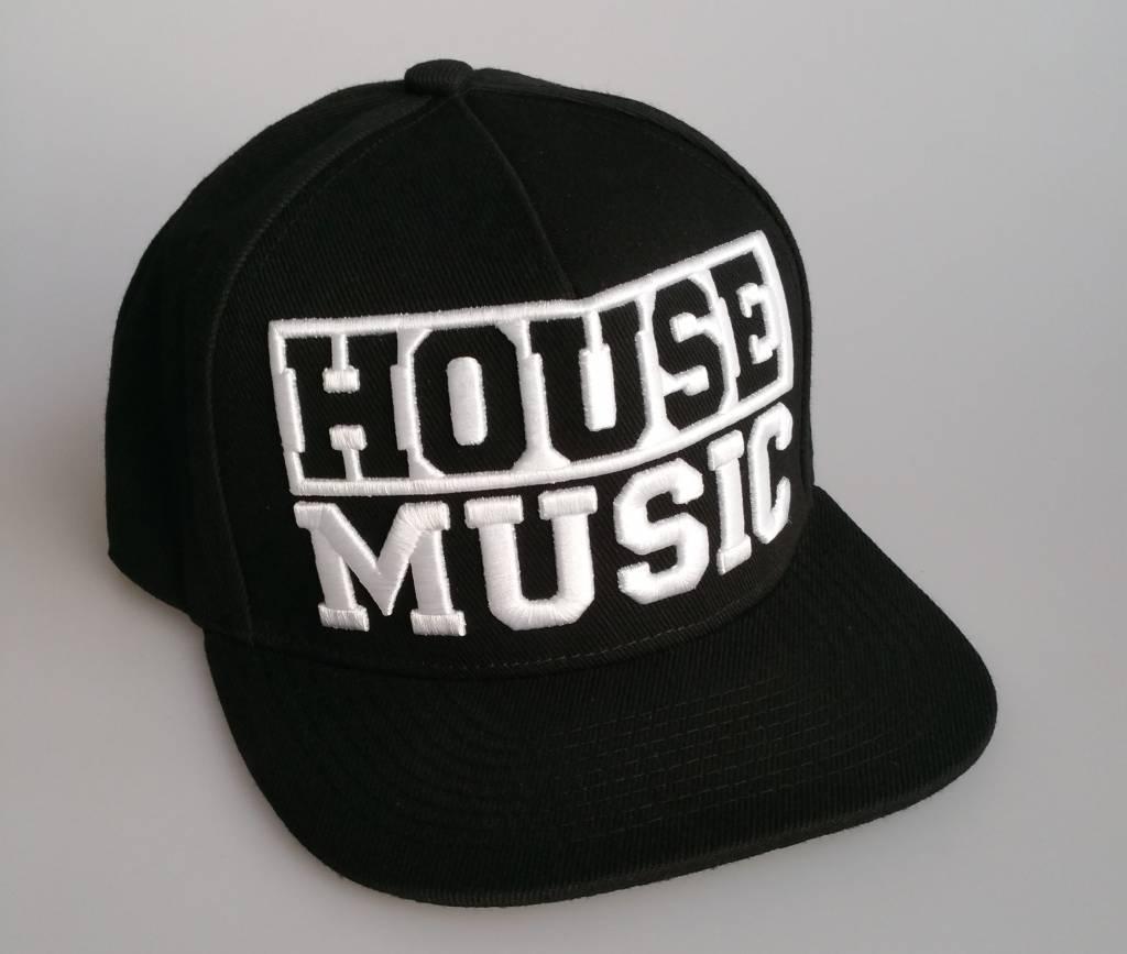 Snapback house music black for Black house music