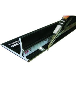 Snijlat Safetyruler Black