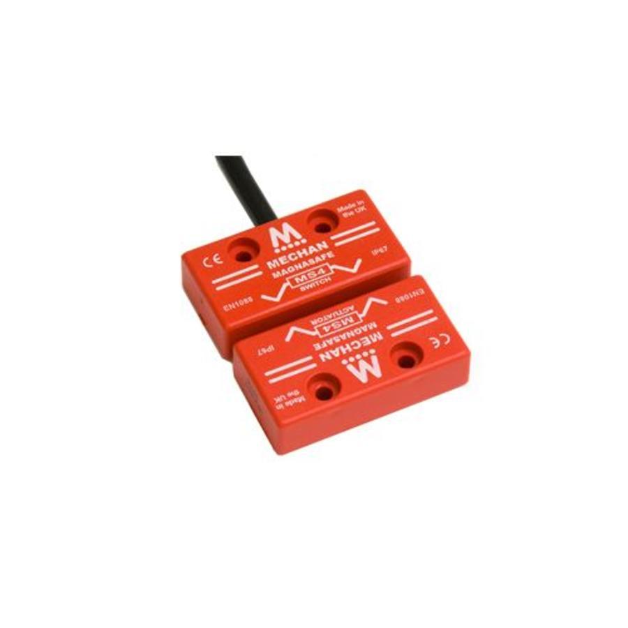 Magnetische contactloze veiligheidssschakelaar MS4