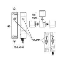 Non-contact magnetic safety switch MS8-SS