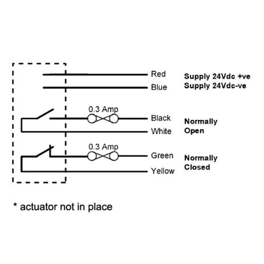 Non-contact coded electronic safety sensor SS-C
