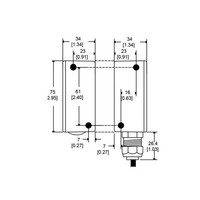 Non-contact uniquely coded electronic safety switch CMA