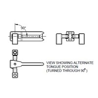 Tongue actuator and head TA2T6