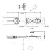 Slidebar operated solenoid safety interlock switch with internal release