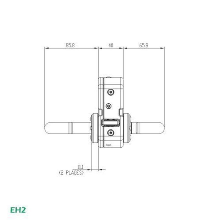 Handle operated safety interlock switch with internal release