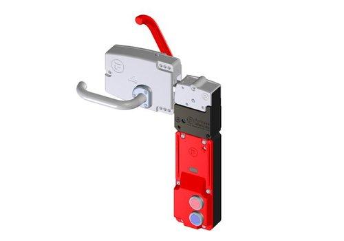 Solenoid safety interlock with IR