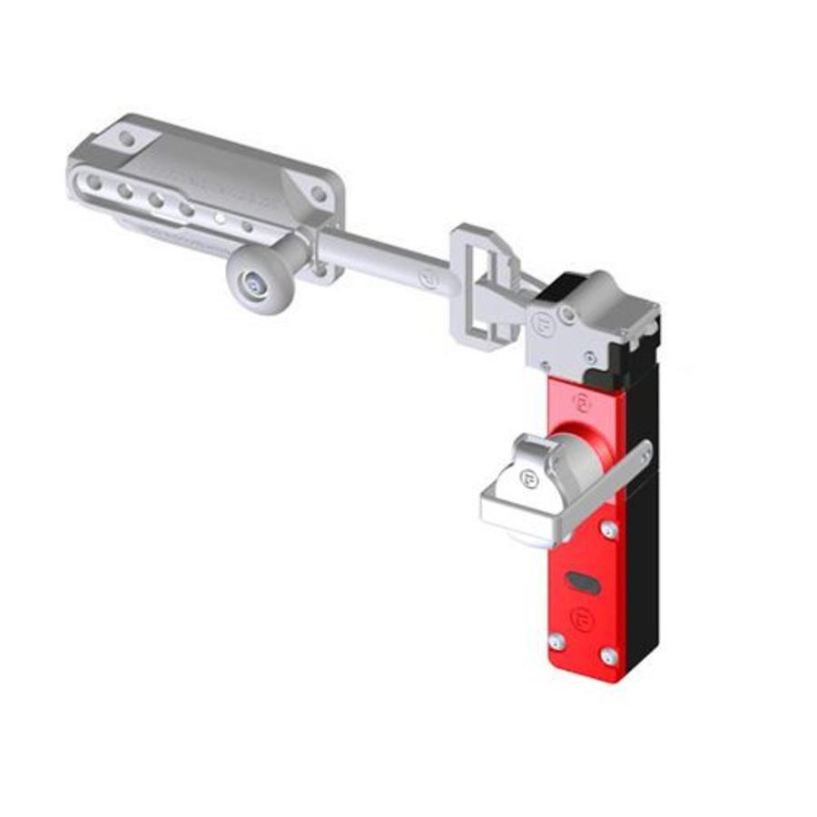 Sicherheitsschalter mit Schubriegel und Sicherheitsschlüssel