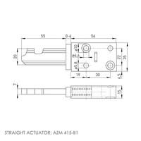 Sicherheitsschalter mit Zuhaltung Ex AZM 415