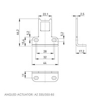 Actuator operated safety interlock switch Ex
