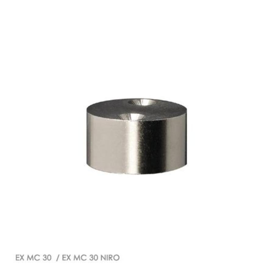 Non-contact coded magnetic stainless steel barrel mount (M30) safety switch Ex