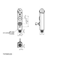 Actuator operated aluminium safety interlock switch PLd