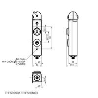 Veiligheidsschakelaar met vaste tong en persoonlijke veiligheidssleutel