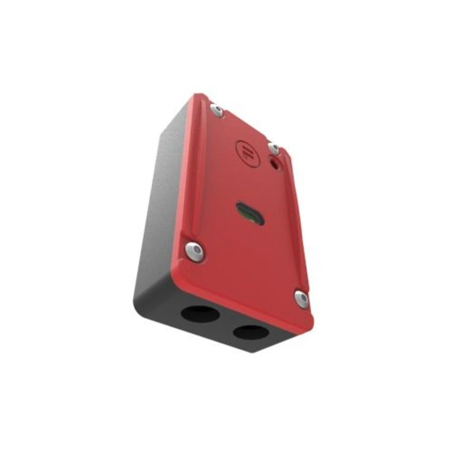Solenoid safety interlock switch