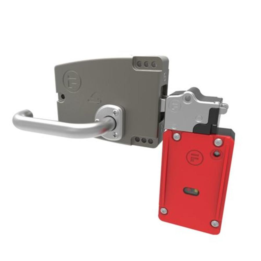 Extreme robust door handle operated steel safety interlock switch PLe