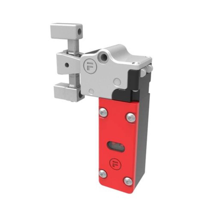 Actuator operated safety interlock switch