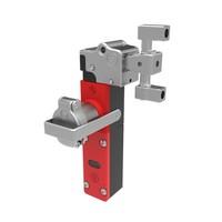 Extreem robuuste tongbediende stalen veiligheidsschakelaar met veiligheidssleutel (verplichte sleuteluitname)  PLe