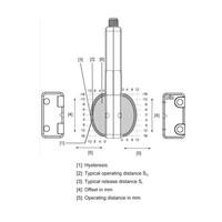 RFID uniek gecodeerde contactloze veiligheidssensor PSEN CS6