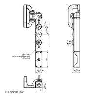 Vergrendelbare veiligheidsschakelaar met handvatbediening en persoonlijke veiligheidssleutel