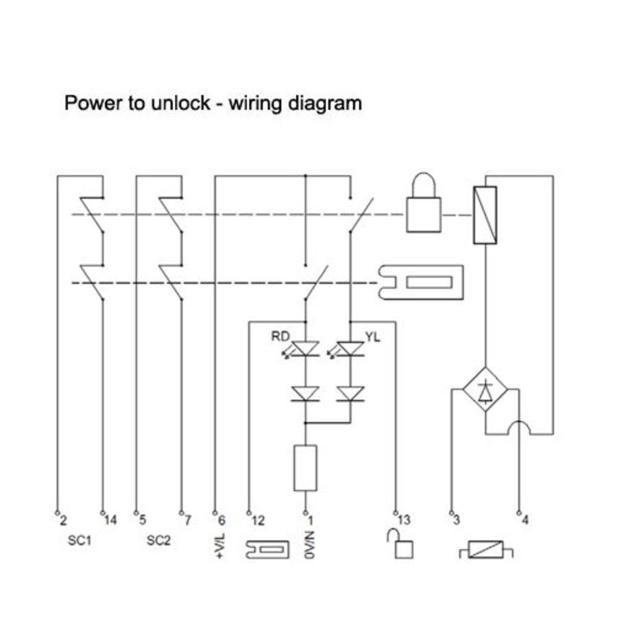 acutator interlock wiring diagram to fan contactors wiring