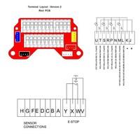 Vergrendelbare veiligheidsschakelaar met drukknoppen, schuifgrendel en persoonlijke veiligheidssleutel