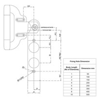 Actuator operated solenoid safety interlock switch c/w push buttons