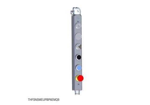 Vergrendelbare veiligheidsschakelaar met veiligheidssleutel