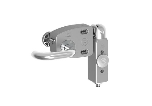 Veiligheidsschakelaar aluminium PLd met noodontgrendeling TENSSQ1