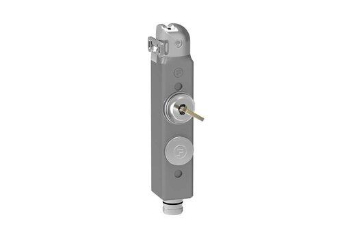 Safety interlock with safety key
