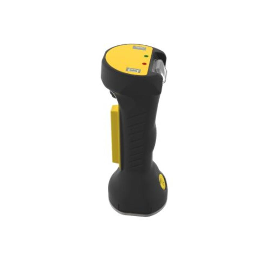 Safety command device with sensors, diagnostics and control functions ZEUS