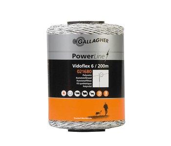Vidoflex 6 wit 200m