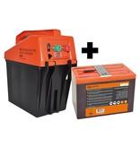 GALLAGHER Gallagher B35 Batterij Schrikdraadapparaat + Gratis Batterij