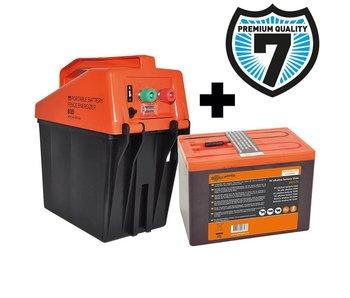 Gallagher B35 Batterij Schrikdraadapparaat + Gratis Batterij