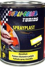 Duplicolor Sprayplast Glans zwart gallon