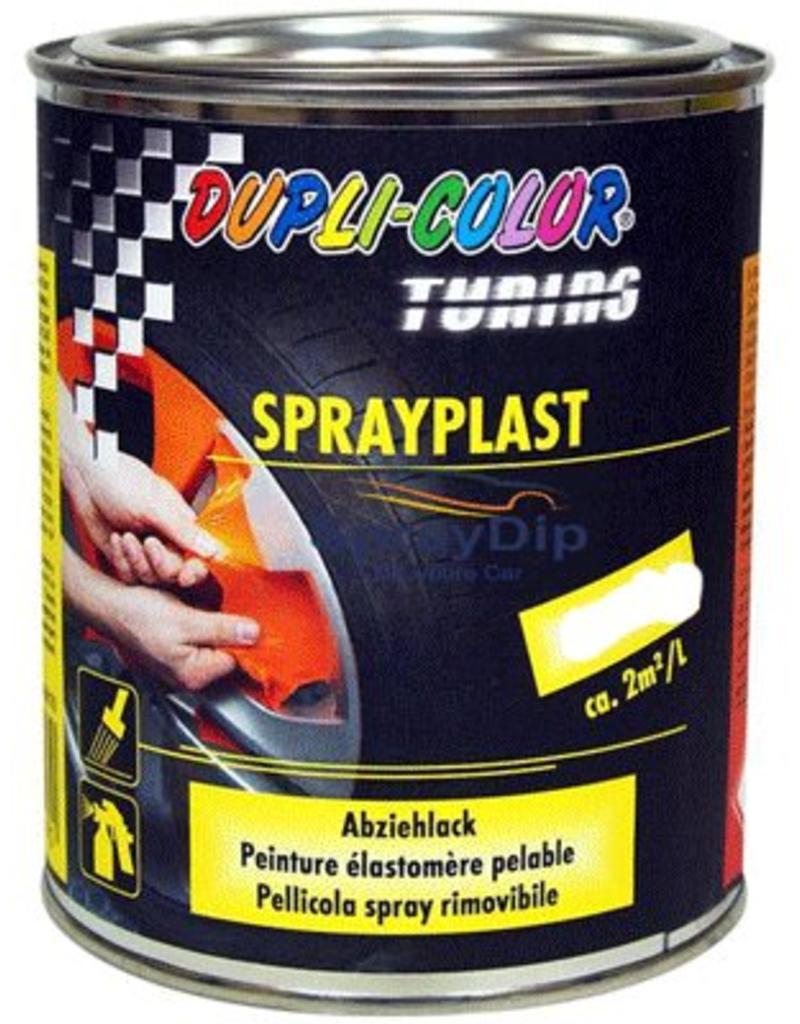 Duplicolor Sprayplast schwarz glos