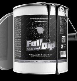 Full Dip Mat Zwart Gallon 4 liter
