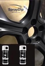 FullDip Fulldip Set mat black 4 wheels