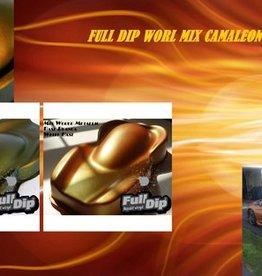 Full Dip Mix World Metallic Chameleón Pigment kit 70 gram