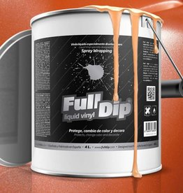 Full Dip Oranje metallic 4 liter