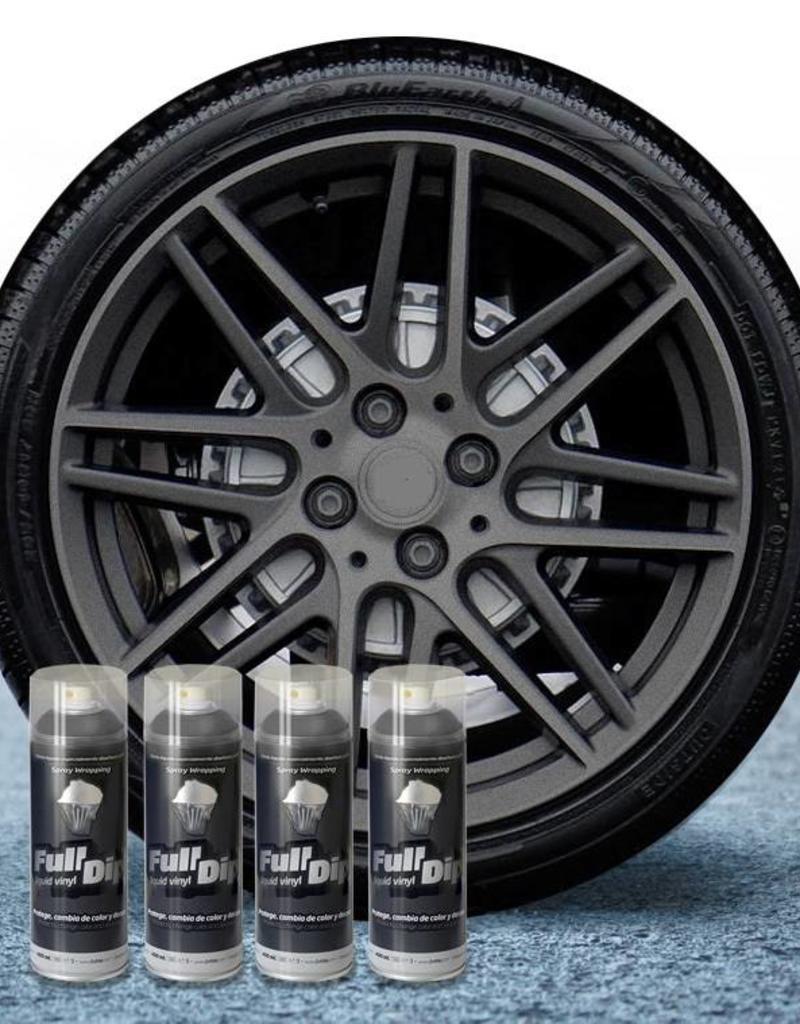 FullDip FullDip® Velgen pakket antraciet metallic