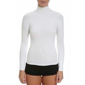 Trifil Slim Fit Turtleneck T-Shirt Wit