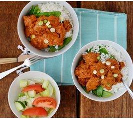 Tikka Masala curry vegetarisch