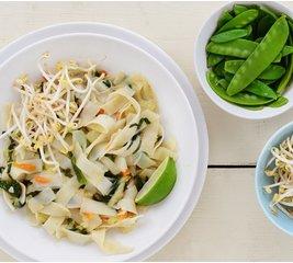 Pad thai noodles vegetarisch