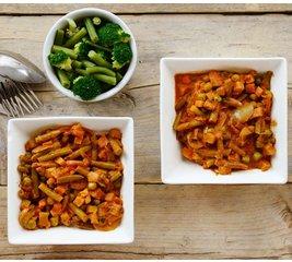 Indiase groente curry