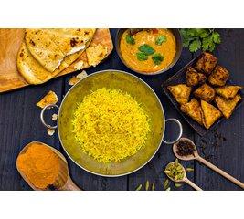 Indiase rijstschotel Bombay ***VM***