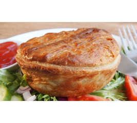 Thai Chicken English Pie 2 stuks