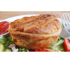 Pulled Pork English Pie 2 stuks