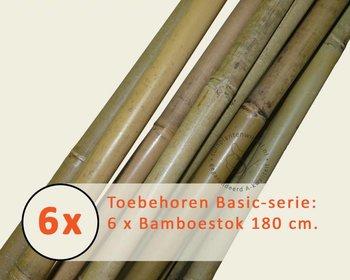 Toebehoren Leibomen Basic los bestellen - Bamboestok