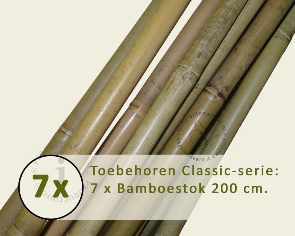 Toebehoren Leibomen Classic los bestellen - Bamboestok