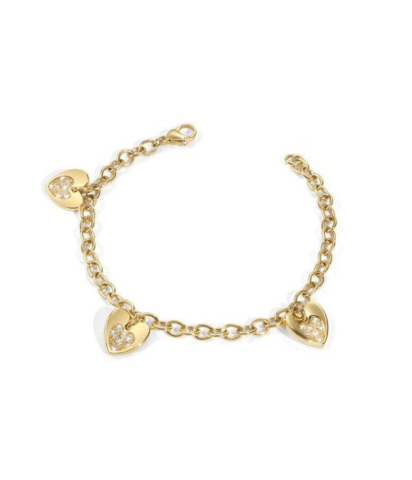 MORELLATO SOGNO TRIPLE Armband mit SUI14 Herzen