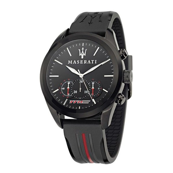 POLE POSITION WATCH BLACK/RED
